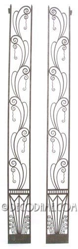 Bath room or bedroom, decorative pilasters) home theater decor