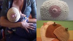 The very best hat for a breast-feeding baby. Lol!!