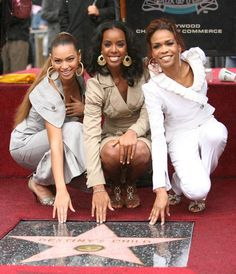 Why Queen Bey Runs The World: March 28, 2006 - Hollywood Walk of Fame