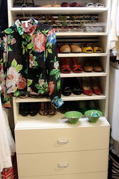 Great makeover tips! Bromeliad: My DIY closet makeover - Fashion and home decor DIY and inspiration
