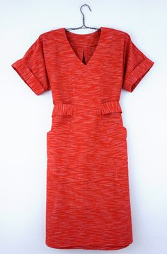 DIY Kimono Sleeve Dress - Review of the Tea House Dress pattern