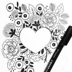 2,099 vind-ik-leuks, 5 reacties - Tombow USA (@tombowusa) op Instagram: 'Getting some major Valentine vibes from this illustration by our Brand Ambassador @paperraven.co.…'