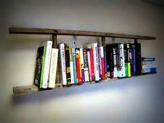 Vintage Wooden Ladder Bookshelf Small by Vintage Wooden Crates, Vintage Ladder, Rustic Ladder, Wooden Ladder, Wooden Diy, Ladder Bookshelf, Bookshelves Kids, Book Shelves, Furniture Near Me