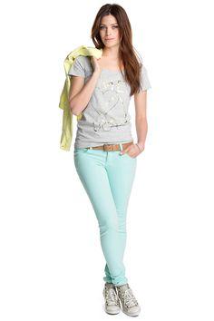 T-Shirt aus Slub-Jersey CASUAL - Esprit Online-Shop