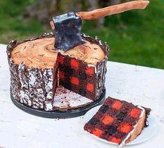 Love this lumberjack cake!