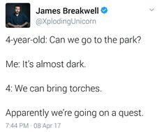 My kid, someday, probably.