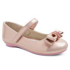Toddler Girls' Embellished Bow Ballet Flats - Assorted Colors : Target