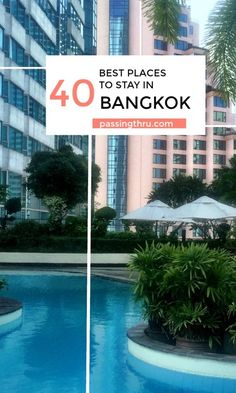 Choose the best place to stay in Bangkok, Thailand using our tips. #travel #Bangkok #besthotels #hotel #Thailand