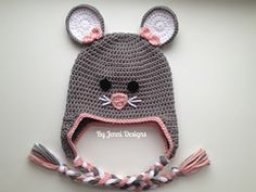 Ravelry: Mouse Hat pattern by Jenni Catavu