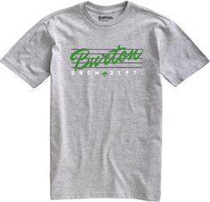 Burton Classic short sleeve t-shirt Heather Grey