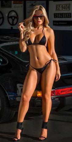 Teen mum with busty breasts in bikini swimwear. Sexy Bikini, Bikini Babes, Mädchen In Bikinis, String Bikinis, Bikini Swimwear, Pernas Sexy, Le Jolie, Honda Civic, Sexy Hot Girls