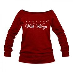 Elevate With Wings Triblend Wide Neck Jumper