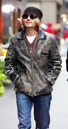 Forget Johnny Depp, I want that jacket!!! =]