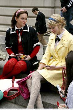 Blair Waldorf preppy style