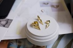 Behind the scenes interview in the studios of independent London fine jewellery designer Hannah Martin