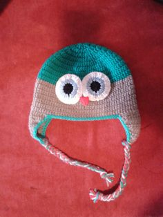 Handmade crochet hat Crochet Hats, Beanie, Unique, Handmade, Knitting Hats, Hand Made, Beanies, Craft, Handarbeit