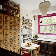 Loves the drawers in this small nook