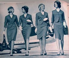 1962 flight attendants - What I so wanted to be in life...oh well...
