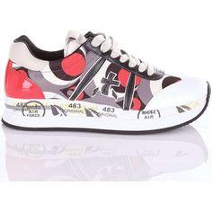 Premiata - CONNY Sneakers Donna Fantasia. Scarpe ... 4d62c8ff8b3