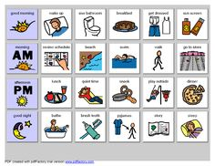 317 best visual schedule autism images on pinterest in 2018 school