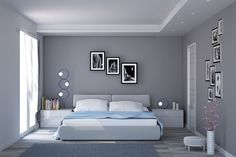 camera matrimoniale set up sloping ceilings - camera matrimoniale set up sloping ceilings - Bedroom False Ceiling Design, Master Bedroom Interior, Modern Master Bedroom, Bedroom Furniture Design, Modern Bedroom Design, Master Bedroom Design, Home Decor Bedroom, Bedroom Wall, Modern Bedrooms