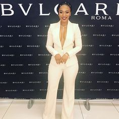WEBSTA @ nomzamo_m - Two weeks ago, Out at the store launch in Diamond Walk. Suit Fashion, Kimono Fashion, Girl Fashion, Fashion Outfits, African Fashion Dresses, African Dress, Blazers For Women, Suits For Women, Graduation Suits
