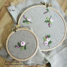 작은 장미들.. 무엇이 될까요? 작업중 #프랑스자수 #프랑스자수수업 #마포상암자수수업 #상암자수클래스 #장미 #실용자수 #자수소품만들기 #embroidery #stitch #handmade #rose