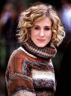 Le carré blond bouclé de Carrie Bradshaw dans Sex and the City