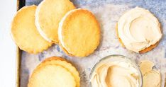 Frugal Food Items - How To Prepare Dinner And Luxuriate In Delightful Meals Without Having Shelling Out A Fortune Serve These Melt-In-Your-Mouth Cookies With Lashing Of Butter Icing. Spritz Cookie Recipe, Spritz Cookies, Chip Cookies, Baking Recipes, Cookie Recipes, Snack Recipes, Dessert Recipes, Desserts, Biscuit Cookies