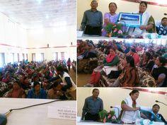 राज्य आयोग महिला की अध्यक्ष सरोजिनी कैंत्युरा ने घरेलू हिंसा की जानकारी देते हुए मुंसियारी में..
