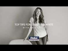 White is the most loved Dulux colour in Australia, find out how to get the most out of your choice. Bree Leech suggests to look for whites with similar under.
