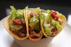 Lentil Taco #Recipe #vegan #plantbased - wrapped in rice tortillas or lettuce, would be gluten-free