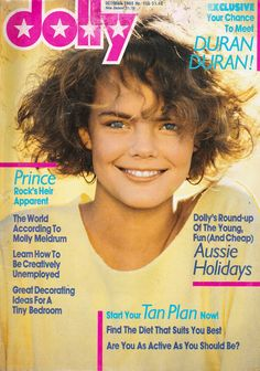 Dolly Magazine October 1983 Cool Magazine, Magazine Covers, Old Magazines, The Good Old Days, 80s Fashion, My Childhood, Ultimate Collection, 1980s, Memoirs