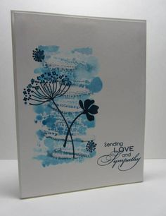 CAS182 Dark Blue & White Color Challenge by nancy littrell - Cards and Paper Crafts at Splitcoaststampers