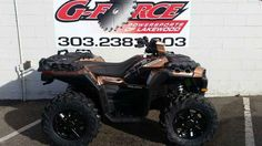 New 2017 Polaris Sportsman XP 1000 ATVs For Sale in Colorado. 2017 Polaris Sportsman XP 1000, G-Force Powersports Lakewood Call 303-238-4303 2017 Polaris® Sportsman XP® 1000 Matte Copper LE The Most Powerful Sportsman Ever. 90 Horsepower ProStar 1000 Twin EFI Engine NEW! Rider Active Design for the Ultimate Sport Utility Experience NEW! 3-Mode Throttle Control Features may include: HARDEST WORKING FEATURES PREMIUM XP PERFORMANCE PACKAGE The NEW! Sportsman XP® 1000 is packed with premium…