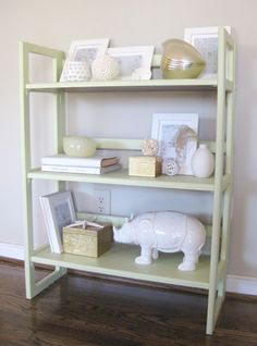 description about how to style a bookcase