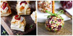 These delicious Christmas appetizers will be the perfect way to to kick off your Christmas dinner or holiday party. Finger Food Appetizers, Appetizer Recipes, Potluck Appetizers, Appetizer Ideas, Dinner Recipes, Best Christmas Appetizers, Christmas Main Dishes, Christmas Cooking, Clean Eating Snacks