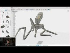 (121) Curstis Chan + Maciej Kuciara / Modeling in Fusion 360 / Learn Squared Live Stream - YouTube