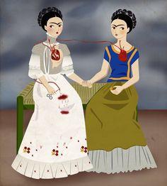 Las dos Fridas - Maria Hesse.