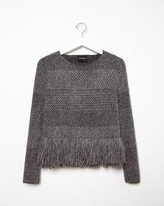 Rachel Comey | Alpaca Fringe Sweater | La Garçonne