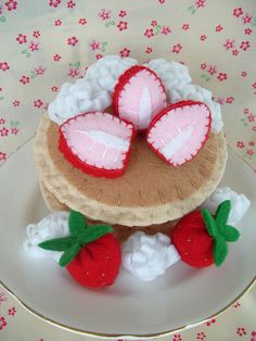 Felt pancakes. I must be hungry.