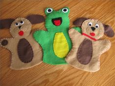 How to Make Hand Puppets Easily