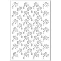 Acurio Latticeworks Palm Tree 32 in. x 4 ft. White Vinyl Decorative Screen - The Home Depot Home Depot, Indoor Dog Gates, Plastic Lattice, Polycarbonate Roof Panels, Decorative Screen Panels, Arbors Trellis, Small Fence, Vinyl Decor, Wall Decor