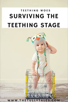 Teething is stressful on parents and little ones. Check out our survival tips on what worked best for our family!