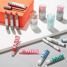NEW TO BIRCHBOX.COM! @milkmakeup has everything we want from our beauty productseasy application (no brushes required) amazing colors and good-for-your-skin ingredients (no parabens here)even better it's homegrown in NYC. This month their Lip Color in C.R.E.A.M. was sampled in our featured box and we're thrilled that you can now get our favorite @milkmakeup products on birchbox.com! Follow the link in our bio to use your Birchbox Points and shop #MilkMakeup now!