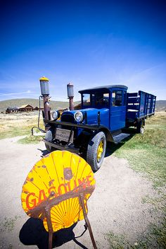 Old truck at Bodie Historic State Park, California