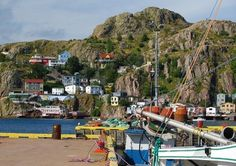 The Battery: This St. John's, Newfoundland neighbourhood is located at the foot of Signal Hill and is famed for its steep hills and brightly coloured houses. The Battery also has historical significance as a defending location of the St. John's Harbour in World War I and II. (Shutterstock)
