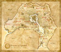 Carte oblivion - Santuaires deadriques