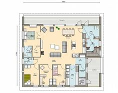 Craftsman Floor Plans, One Bed, House Plans, Cabin, Flooring, How To Plan, Mansions, Luxury, Home