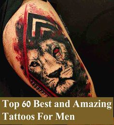 Top 60 Eye Catching Tattoos für Männer mit Sinn,                                                     Tattoos For Men : Tattoos sind schön und liebenswert. Tattoos sind das Symbol für Freiheit u..., #Tattoo #Ideen #Design #Tätowierung